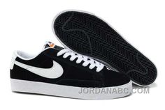 http://www.jordanabc.com/nike-blazer-low-premium-retro-womens-black-white-shoes.html NIKE BLAZER LOW PREMIUM RETRO WOMENS BLACK WHITE SHOES Only $78.00 , Free Shipping!