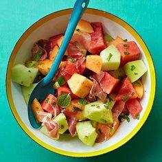 Triple Melon Salad - FamilyCircle.com