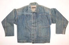 Source: Ameblo // Brand: Levi's // c.1910 // Likes: The past silhouette is similar to the modern version.