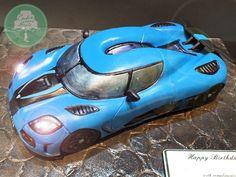 Koenigsegg Agera S  - Cake by Nicholas Ang