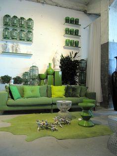 Linteloo Groene Accenten, Groene Kamers, Groene Mode, Pantone, Gypsy Stijl,  Interieurstyling