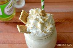 Boozy Key Lime Pie Milkshake | 26 Boozy Milkshakes That Know How To Party
