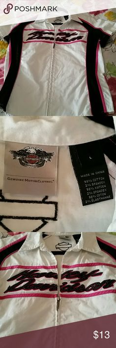 Harley Davidson top Good condition Tops