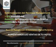Externalización del Revenue Management de Beezhotels Revenue Management, Marketing, Reputation Management, Direct Sales