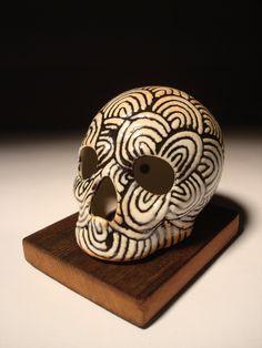 Many Arches Skull via Etsy.