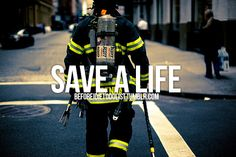 I want to be a firefighter/paramedic so I will probably do this someday.