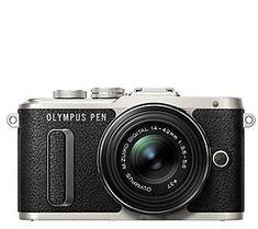 Olympus E-PL8 16.1 MP Mirrorless Camera w/ 14mm-42mm Lens