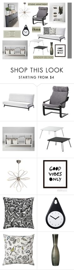 Save Money with ikea ' by dianefantasy on Polyvore featuring interior, interiors, interior design, home, home decor, interior decorating, Sivik, ikea, polyvoreeditorial and under250