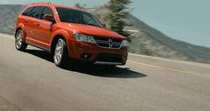 2014 Dodge Journey Limited in Copper Pearl features a touring-tuned suspension that helps maintain a smooth ride even when cornering at higher speeds. Visit http://www.jimclickdodge.com/