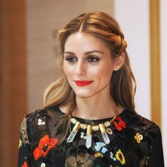Olivia Palmero wearing Preen at the Olivia Palmero x Ciate London Launch.