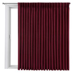 Royal Velvet® Supreme Pinch-Pleat/Back-Tab Lined Patio Panel  found at @JCPenney