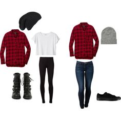 """plaid"" by iloveclothesxo on Polyvore 