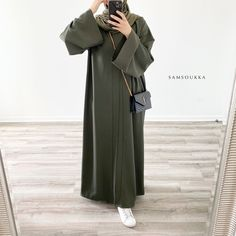 Modern Hijab Fashion, Muslim Women Fashion, Hijab Fashion Inspiration, Abaya Fashion, Fashion Outfits, Hijab Style Dress, Casual Hijab Outfit, Hijab Chic, Mode Kimono