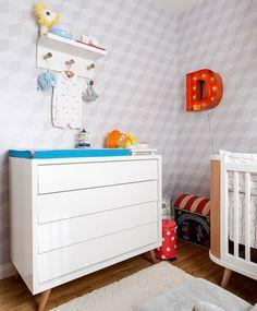 quarto-de-crianca-menino-circo-decoracao-trocador (Foto: Mariana Lima/Divulgação)