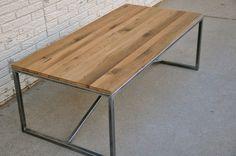 Spire Coffee Table - Reclaimed Wood Coffee Table. $800.00, via Etsy.