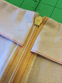Sew Tessuti Blog - Sewing Tips & Tutorials - New Fabrics, Pattern Reviews: Tutorial - How to attach your invisible zipper to a facing like a BOSS!