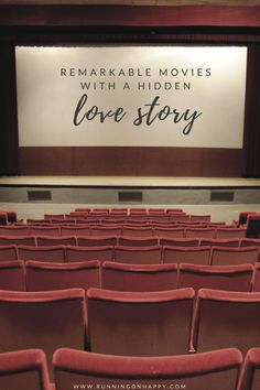Some of the best movies are the ones with hidden love stories. Have you seen any of these? Remarkable Movies with a Hidden Love Story