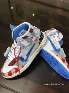 Parra x Off-White x Air Jordan 1 customize Shoes Custom Made Jordans Foams Shoes Nike, Nike Shoes, Custom Made Jordans, Sneakers Fashion, Fashion Shoes, Women's Fashion, Nike Sandals, Air Jordan Shoes, Custom Shoes