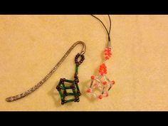 Cube tutorial, bookmark, phone charm, christmas decoration. - YouTube