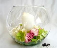 wedding table vases flowers - Google Search