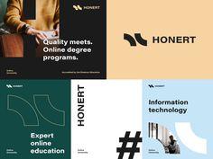 Brand Identity Design, Corporate Design, Branding Design, Startup Branding, Logo Branding, Education Logo, Ui Design Inspiration, Design System, Social Media Design