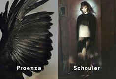 Proenza Schouler // AW '13 Sasha Pivovarova photographed by David Sims