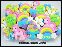 Cookies.....................I LOVE THE COLORS OF THESE..........SO PRETTY............