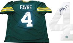 Brett Favre Autographed Green Bay Packers Jersey ** Find out more about the great product at the image link. This Amazon pins is an affiliate link to Amazon.