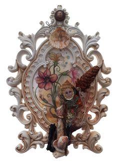 Nasturium Portrait 2014 by ByJosephineDeFrancis on Etsy Lion Sculpture, Brooch, Statue, Portrait, Unique Jewelry, Handmade Gifts, Artwork, Vintage, Etsy