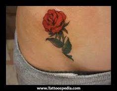 Resultado de imagem para small rose tattoos