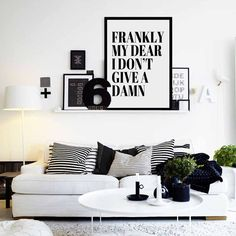 Frankly My Dear I dont Give A Damn, Gone with the Wind, This print is perfect for an apartment, gallery wall, home office space, dorm, room, or