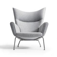Hans Wegner CH445 Wing Chair from Carl Hansen & Son