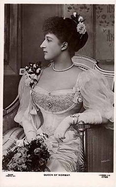 Queen Maud of Norway, Dronnig av Norge by Miss Mertens, via Flickr