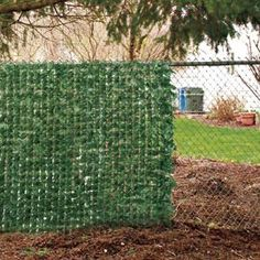 images about evergreen fence on Pinterest Chain