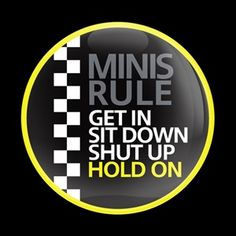 MINI Rule 01 Badge is one of our special and distinctive emblem badges displayed on vehicles. Simply mount it to your grill with our grille badge holder and swap the badges whenever you want. Yellow Mini Cooper, Mini Cooper S, Mini Countryman, Mini Clubman, F150 Truck, 4x4 Trucks, Diesel Trucks, Lifted Trucks, Ford Trucks
