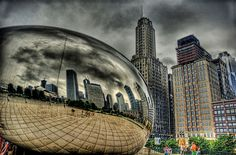Don't miss your chance to add to the large database of reflective photography of the Bean.