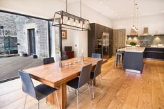 Fabulous dining area leading out to outside deck.