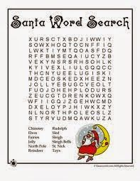 Christmas Wordsearch For Kids Free 4