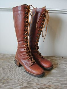 tall riding boots from the 70's