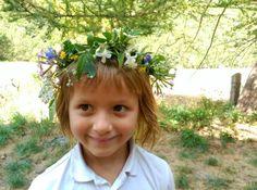 Cómo hacer coronas de flores naturales