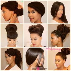 Natural Hair Tutorials on Loxabeauty.com