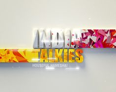 N3 Design - India Talkies on Behance - Motion Graphics - broadcast graphics and tv branding - style frames