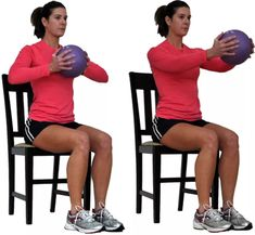 Seated Chest Squeeze