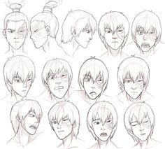 """One of the nice Zuko drawings. Zuko just.being Zuko. Sharing a few storyboard images from the episode """"Fire Bendin. Team Avatar, Avatar Aang, Prince Zuko, Avatar The Last Airbender Art, Drawing Expressions, How To Draw Hair, Legend Of Korra, Drawing Reference, Character Art"""