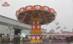 Sillas Voladoras - Venta de juegos mecánicos extremos - Fabricante de juegos mecánicos para parques de atracciones-Sinorides