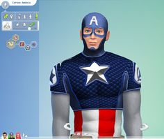 Captain America in The Sims 4 Mods