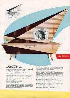 Kuba Comet TV console.  AWESOME!