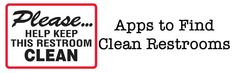 Need help finding a clean bathroom? Yes, there is an app for that.