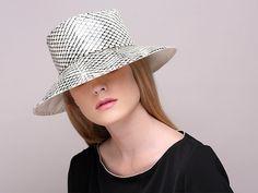 Rain hat / wide brim rain hat / printed hat / by JustineHats