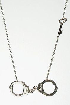 28K by Juliana Eshaya Handcuff necklace